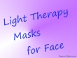 Info Led Light Therapy Mask For Face